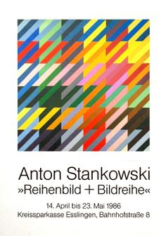 Anton Stankowski exhibition poster