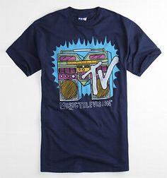 Junk Food MTV 1 Tee King Tee, Junk Food, Mtv, Lazy, High School, Memories, Rock, Tees, Mens Tops