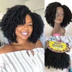 How to Make a Kinky Curly Wig How to Make a wig, crochet wig, wig, how to Make a crochet wig, protec Braided Hairstyles For Black Women, Braids For Black Women, Braids For Black Hair, Natural Hair Styles For Black Women, Kinky Curly Wigs, Kinky Curly Hair, Curly Hair Styles, Curly Braids, Afro Wigs