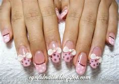 stars and disco balls embedded within the gel nails | Nail Art Ideas