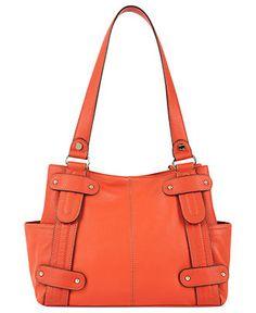 Tignanello Handbag, Perfect 10 Studded Shopper - Shoulder Bags - Handbags & Accessories - Macy's