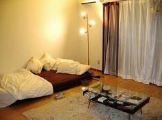 강동대학교 공식블로그 :: 원룸 인테리어 원룸 꾸미기 자취방 꾸미기 Small Room Layouts, Small Rooms, Tiny Apartment Living, Condominium Interior, Minimalist Apartment, Simple Interior, Room Interior Design, Home Bedroom, House Design