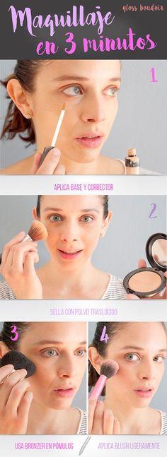 maquillaje 3 minutos