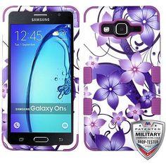 MYBAT TUFF Graphics Samsung Galaxy On5 Case - Hibiscus Flowers