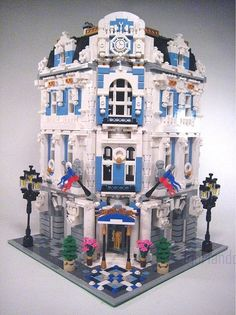 Lego International Hotel: Anastasia Astoria 2 by lgorlando, via Flickr
