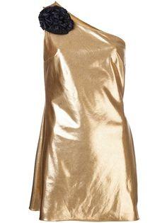 JULIA CLANCEY 'Black Flower' Dress