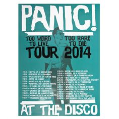 WHY DIDN'T I DISCOVER P!ATD AT THIS TIME?!?!?!