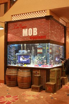 Totally need to check out this tank that the guys from TANKED made while we are there! I want to check out a few of the tanks they've built for Vegas shops and casinos!