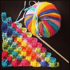 Working on a Knitcol rainbow by Knittedflower  #adriafil #knitcol #rainbow #yarn #arcobaleno #filato #colours #colori #colore #jacquard #selfpatterning #selfstriping #crochet #uncinetto #ganchillo #diy #handmade #cool #knitwear