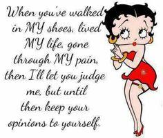 Betty dont judge