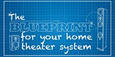 A Blueprint For Your Home Theater System #hometheatertips #hometheaterprojectorideas