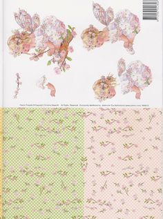 decoupage sheet
