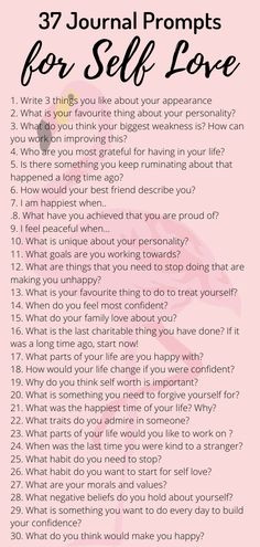 37 Journal Prompts for self love. Journaling therapy can improve mental health reduce anxiety. Men and women can try these prompts to improve self esteem and confidence. Getting to know yourself can help reduce anxiety and feelings of low self worth. Self Mental Health Journal, Improve Mental Health, Mental Health Questions, Mental Health Plan, Life Quotes Love, Self Love Quotes, Quotes Quotes, Feeling Happy Quotes, Cover Quotes
