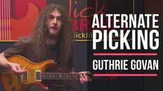 Guthrie Govan Alternate Picking Guitar Lesson | Licklibrary Guitar Lesso...