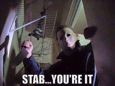 Horror movie humor