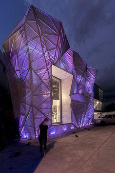 © Juan Alberto Andrade Light Architecture, Futuristic Architecture, Amazing Architecture, Contemporary Architecture, Architecture Details, Interior Architecture, Amazing Buildings, Modern Buildings, Classification Des Arts