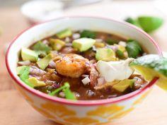 Shrimp Tortilla Soup recipe from Ree Drummond via Food Network/Pioneer Woman