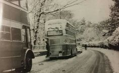 This wintry scene is 1969 and features bus 142 one of the last vertical - engined buses to be purchased by Birkenhead Corporation.it was a Leyland Titan with 66 seat Massey body. Liverpool History, New Brighton, Bus Coach, London Underground, Where The Heart Is, Leicester, Coaches, Buses, Old Photos