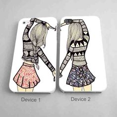 Best Friend Matching Phone Cases for iPhone Case
