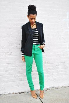Create this stylish St. Patrick's Day outfit for less by shopping Goodwill!