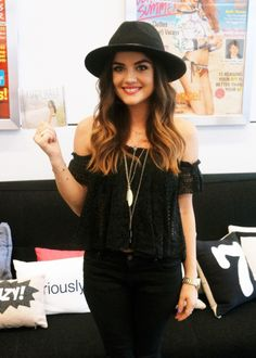 lucy hale style ♡