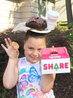 Wacky Wednesday Crazy Hair Day!  Ours was Dunkin' Donuts inspired!
