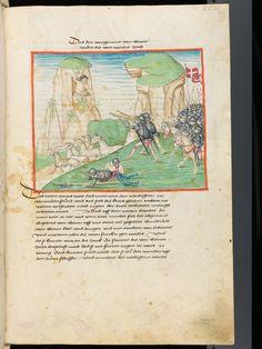 Bern, Burgerbibliothek, Mss.h.h.I.1, f. 407 – Diebold Schilling, Amtliche Berner Chronik, vol. 1