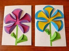 Inspire your kids to discover the creative world of paper crafts for weekend or holiday fun. These awesome yet easy DIY paper crafts for kidsguarantee great fun and learning too. Paper Crafts For Kids, Preschool Crafts, Diy Paper, Arts And Crafts, Preschool Teachers, Kindergarten, Spring Art, Spring Crafts, Fun Activities For Kids