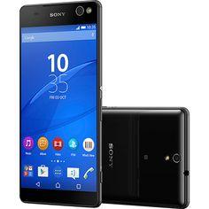 (Shoptime) Smartphone Sony Xperia C5 Ultra Dual Chip Desbloqueado Android 5 Lollipop Tela Full HD 6 ´ 16GB de Memória Interna 4G Câmera…