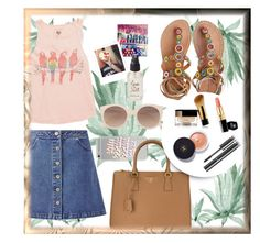 """""""First Encounters"""" by emmeline7 ❤ liked on Polyvore featuring Billabong, Miss Selfridge, Olivine, Laidback London, Witchery, Prada, Chanel, first, Meeting and meet"""