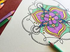 Start coloring with DIY Network's downloadable mandala patterns, plus find suggestions on how to decorate with your finished pieces.
