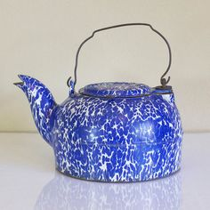 Cast Iron Enamel Kettle