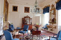 Prince Charles Unveils Dumfries House | Architectural Digest pin by #TheItalianGlam