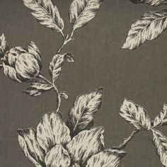 Tritex Fabrics Pacifica Collection - Gabriola - Graphite. Wonderful cotton fabric that is great for window coverings, accessories & bedding! Available to the trade through ww.w.tritexfabrics.com