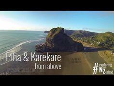 Piha & Karekare from above - Exploring New Zealand - DJI Phantom 2