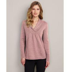 Shawl Collar Sweatshirt Sweater | Eddie Bauer