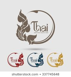 Find Thai Art Vector stock images in HD and millions of other royalty-free stock photos, illustrations and vectors in the Shutterstock collection. Typography Logo, Art Logo, Logos, Pattern Images, Vector Pattern, Thai Font, Thai Pattern, Thai Design, Thailand Art