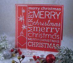 Merry Christmas Background Die