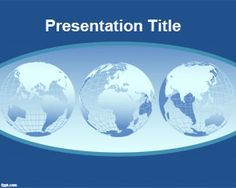 48 Best World Powerpoint Templates Images Powerpoint Template Free