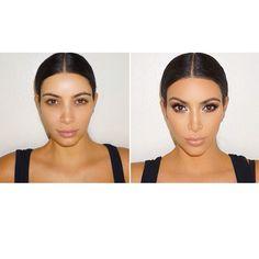 10 beauty secrets to getting Kim Kardashian's makeup look: