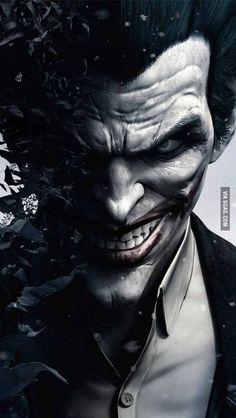 Joker in Batman Arkham Origins - The iPhone Wallpapers Batman Arkham Origins, Batman Arkham City, Joker Arkham, Gotham City, Le Joker Batman, The Joker, Joker And Harley Quinn, Batman Robin, Batman Book