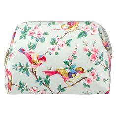 Cath Kidston Frame Cosmetic Bag -british Birds for sale Birds For Sale, Oven Glove, Cath Kidston, Kids Bags, Wash Bags, Large Bags, Bag Making, Cosmetic Bag, Drawstring Backpack