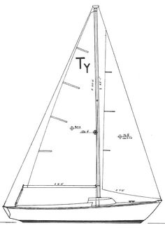 TYPHOON 18 (DAYSAILER)   Hull Type:Long KeelRig Type:Masthead Sloop LOA:18.50' / 5.64mLWL:13.50' / 4.11m Beam:6.29' / 1.92mListed SA:157 ft2 / 14.59 m2 Draft (max.)2.60' / 0.79mDraft (min.) Disp.1900 lbs./ 862 kgs.Ballast:900 lbs. / 408 kgs. SA/Disp.:16.41Bal./Disp.:47.33%Disp./Len.:344.75 Designer:Carl Alberg Builder:Cape Dory Yachts (USA) Construct.:FGBal. type:Lead First Built:1977Last Built:1986# Built:141