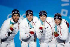 04a4b5b7b0 Jeux olympiques 2016 , 2018 · Publication de L'express Les français, Martin  Fourcade, Simon Desthieux, Marie Dorin