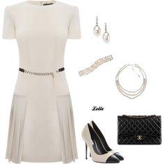 """""""Alexander McQueen dress"""" by lellelelle on Polyvore"""