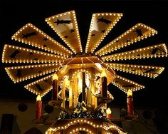 "Basel - Christmaspyramide ""stars in the sky"""