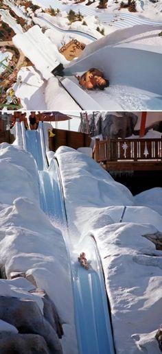 Frozen Slide at Disney's Blizzard Beach
