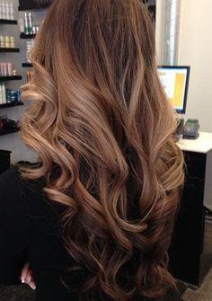 subtle ombré #ombre #curls