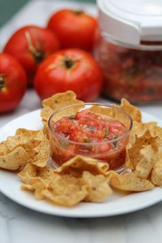 Garden Salsa from Pidge's Pantry