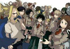 All Might, My Hero Academia characters, Class 1-A; My Hero Academia